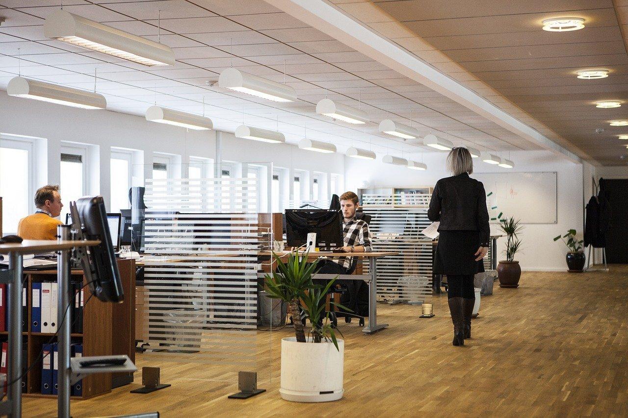 tendances dans l'organisation des bureaux